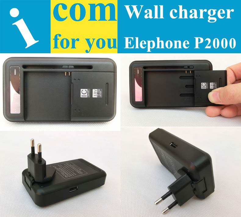 USB Travel Battery Wall charger for Elephone P2000 CUBOT GT89 ZOPO ZP999 ZP520 Doogee DG580 Leagoo Lead 1 K550 Mijue M580(China (Mainland))