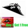 "Free Shipping,buy 2 get 1 free,car styling,waterproof ""Peeking"" car sticker for honda civic,kia rio car covers"