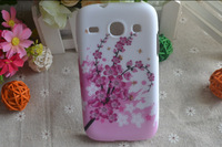 for Samsung Galaxy Core I8262 8262 Cover gel, sakura plum blossom Soft TPU Case for Samsung Galaxy Core I8262
