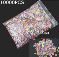 Wholesale 10000pcs Nail Art Tiny Fimo Slice Mix Mini Polymer Clay Flowers DIY Tips 5mm