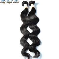 cheap mongolian body wave virgin hair 2 bundles lot mongolian unprocessed human hair weave sale no tangle and shedding and lice