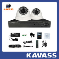 KAVASS 4CH HDMI DVR HD 800TVL  indoor Office Home CCTV DIY Security Camera System samrt home kit CLG-2C800A