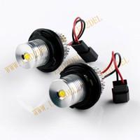 LED angel eyes bulb E39 5W for bmw led marker E39 E60 5W 5sets/lot DHL/FEDEX/HK POST/EPACKET FREE SHIPPING