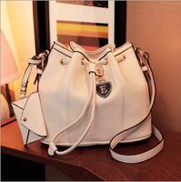 Bucket bag new 2014 spring wild influx of portable shoulder Messenger E plates British retro bag lady Shoulder bag handbag