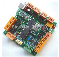 Free Shipping 4 Axis USB CNC Controller Interface Board CNCUSB MK1 USBCNC 2.1 Substitute MACH3