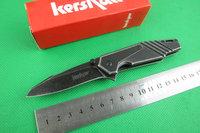 Free shipping New Kershaw Full Stone wash 3CR13 Blade Folding knife FD44