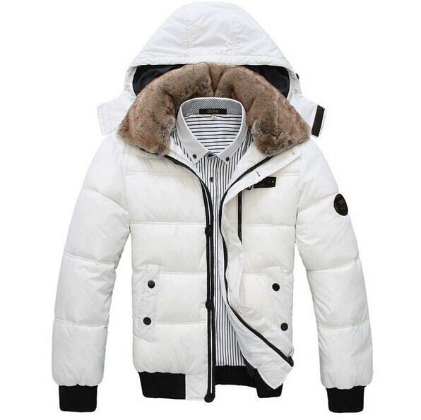 Mens 2014 Winter New High quality Male Cotton-padded Casual Down Coats&Jackets fashion Overcoat,Outwear,Parka thick(China (Mainland))