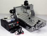 Free shipping mini cnc milling machine CNC 3040 Z-DQ 3040 4 Axis cnc router 110V 220V