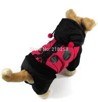 Retail windbreaker ladybug style  Pet Dogs Coat  Free Ship 2014 new clothing for dog
