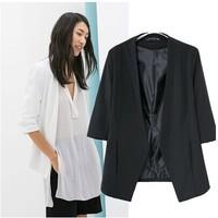 Spring and autumn blazer women coat Thin