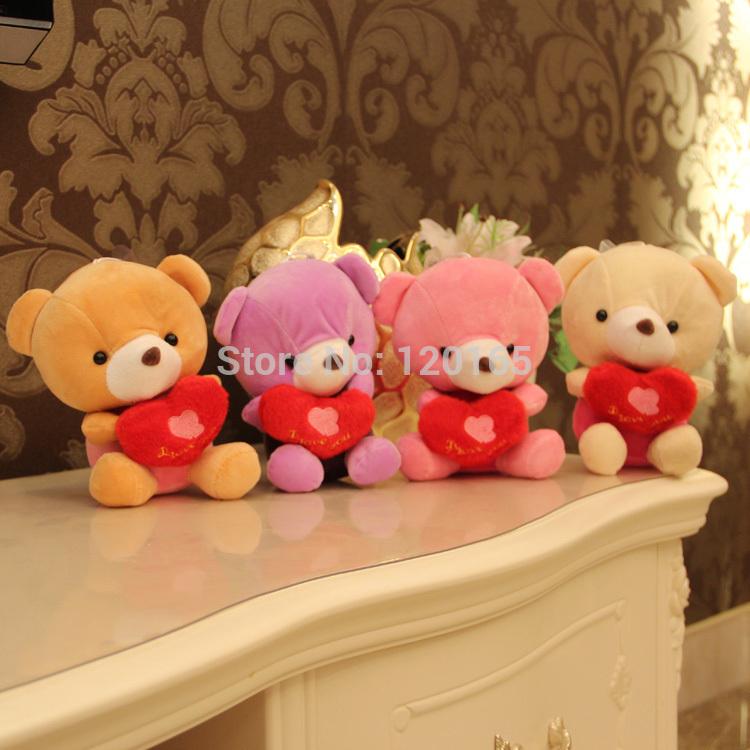 Teddy Bears With Hearts And Roses Gif Cute Hold Heart Teddy Bear