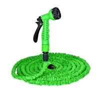New Plastic Connector 100FT Green Garden Water Hose+Spray Gun with Individual Packaging Free Shipping garden water gun