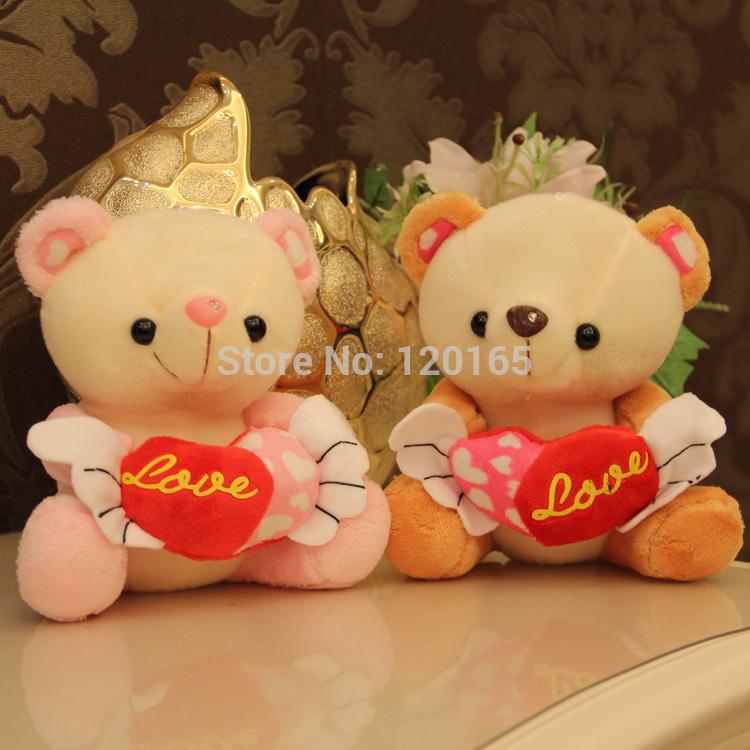 Teddy Bears With Hearts And Roses Gif The Heart Angel Teddy Bear