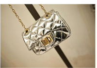 Free shipping New Arrival 2014 Gold bags  mini shoulder bag  Princess lovely fashion girls bag  and Children's  messenger bags