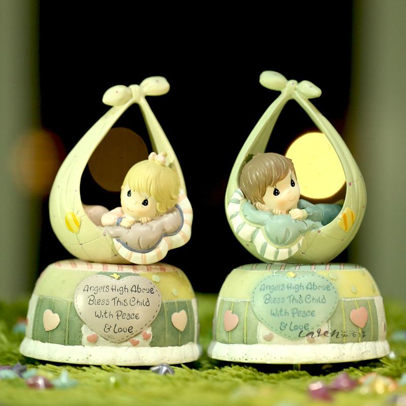 Christmas Angel Music Box Sleep Baby Angel Music Box