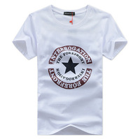Free shipping Men's T-shirt, short-sleeved T-shirt, cotton, round neck, short-sleeved T-shirt