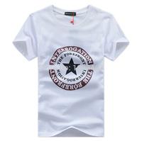 Free shipping Men's T-shirt short-sleeved T-shirt cotton round neck short-sleeved T-shirt