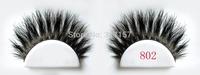 2014 new style false eyelash  wholesale  100% real horse hair false eyelash