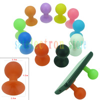 1PCS High Quality Rubber Octopus Sucker Ball Holder Desktop Stand for Cell Mobile iPhone 4 4S 5G 3GS iPad iPod Tablet