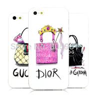 Designer Purse /Handbags / High Heel Style Hard Phone Case For Iphone 4/4s 5/5s