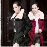 2014 korean winter coats for women clothes winter jacket female in long down jacket large size winter jackets women parka