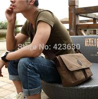 2015 Vintage men's travel bags men messenger bag man canvas bags free shipping