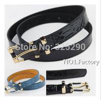High Quality Fashion Snake Grain 100% Genuine Cowhide Leather Belt Waistband Cummerbund belt for Women