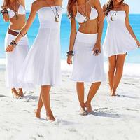 9 Colors 2014 Summer Novelty Multi-way Bikini Dress European American Style Women's Fashion Sexy Dress Women Beach Dresses