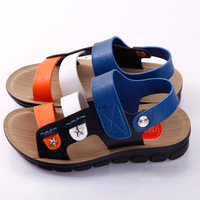 Microfiber leather sandals 2014 new Korean boys sandals boys large influx of summer shoes child