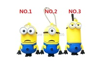 Pendrive Minions USB 2.0 Flash Drive 4GB 8GB16GB 32GB 64GB Despicable Me 2 Pen drive Memory stick U Disk