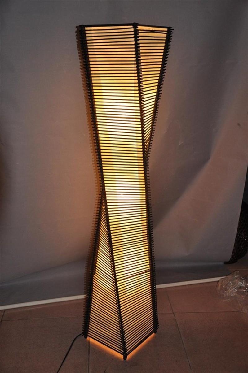 Slaapkamer Donkerbruin : Chinese Floor Lamp