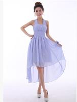 Free shipping New Arrival Bridesmaid dresses short Shoulders dress  hot  sell Princess  Bridesmaid dress 2014
