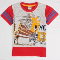 2014 Summer New Children's T-shirt Explosion Models Cartoon Boys Summer Casual Short-Sleeved T-shirt coCtton