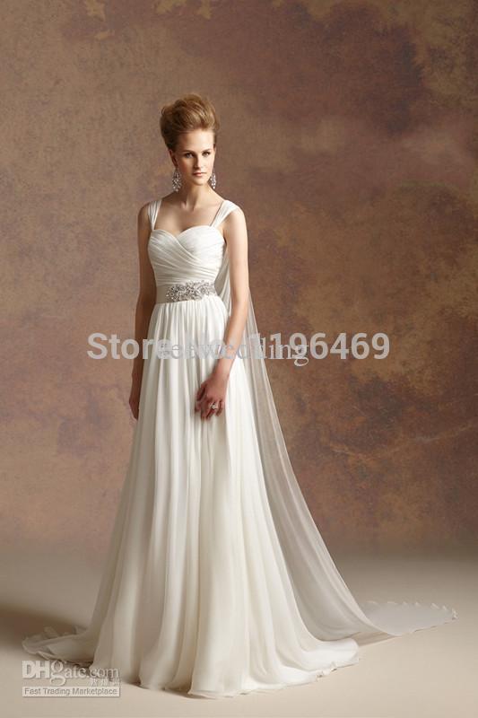 Greek style beach wedding dresses promotion online for Greek themed wedding dress