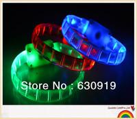 New Arrival  Fashion led bracelets flashing Multicolor bracelet blinking bracelet for party ,festival Free shipping