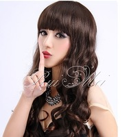 Free shipping wholesale cheap african americans full lace wig black wave wigs with baby hair bleached knots