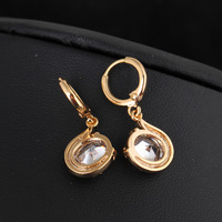 2014 Latest Fashionable Dangle Earrings with 18K Gold Plated ER0209