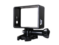 3IN1/SET Side Border Frame Mount Protective Housing+Buckle Mount Base+tripod screw For Go Pro Hero 3 3+ camera free shipping