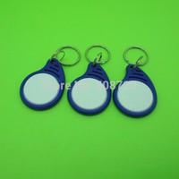 100PCS new style IC Identification Door Entry Access RFID Key Keyfob Card 13.56MHZ S50 Fudan free shipping