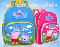 peppa pig bag george pig bolsa mochila children school bags kids primary school backpacks kids cartoon mochila infantil