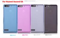 G6 Case,  Soft TPU Back Cover Protective Shield For Huawei Ascend G6 / P6 Mini, Matte Anti Fingerprint Case,  Free Shipping