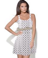 New 2014 Preppy Style Women summer Sleeveless Geometric Print Elastic Casual Chiffon Tunic Party Mini Dress B11 SV004679