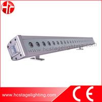 Cheap nightclub decoration light 100cm 24x3w trid led rgb wall washer