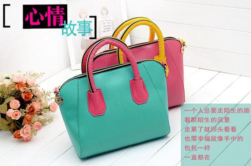 Brand New Gossip Girl Croco Smiling Face bag Bats style women's bag handbag Tote Hobo Free Shi