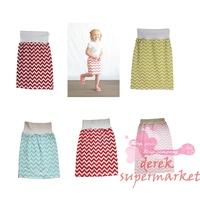 Girl Summer Skirt 100% Pure Cotton Children Girls Striped Cotton Skirt Girl Mini Skirt