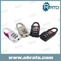 (50 pieces/lot) hotsale  cheap TSA luggage padlock