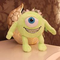 free  Shipping Monsters University 18cm 1pcs Single Eye Monster Plush cute Cartoon doll good kid toys with high quality