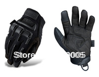 No3810 High Quality 2013 Mechanix Wear TAA Impact PRO gloves Mechanics Work Safety Full Finger impact m-pact Glove Black S-XL