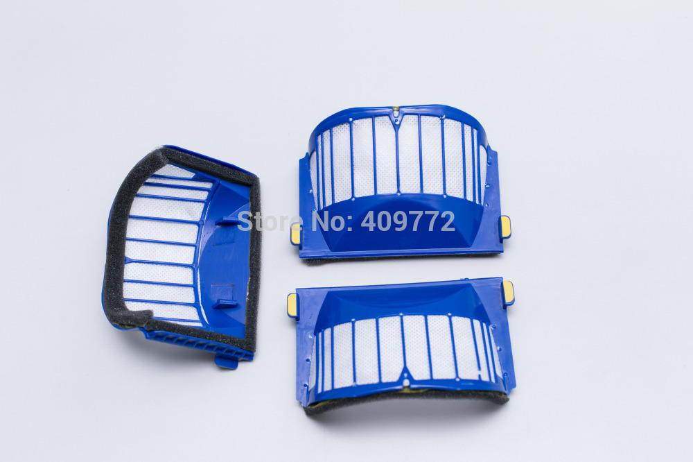 Комплектующие для пылесосов ENERGIT 12 iRobot Roomba AeroVac 550 551 536 552 564 EN-F550 6pcs hepa filter suitable for roomba irobot 500 600 series aerovac filter 528 536 551 552 564 580 595 620 630 650