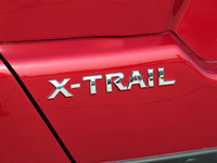 x-trail x trail car letter sticker logo ABS chrome high quality badge rear emblem